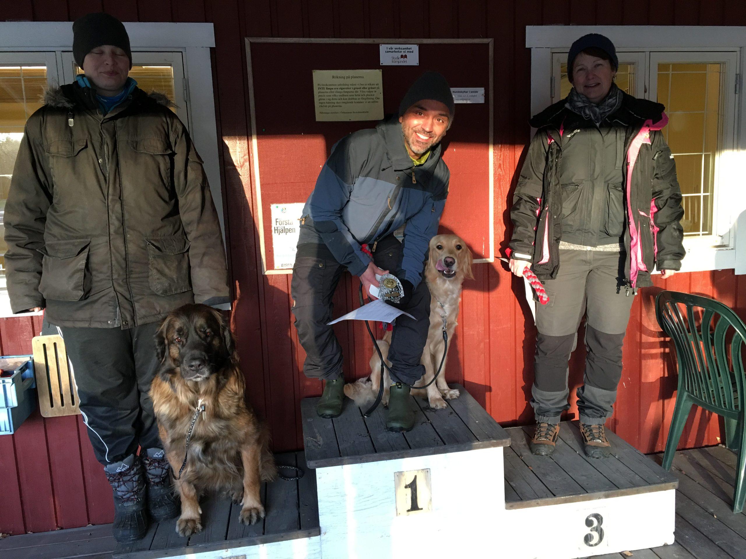 1:a pris och 1:a placering, Thomas & Vida, Lkl1, Östhammar BK